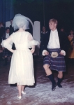 Tim Herring dancing in Brigadoon. He was also the choreographer of the production.